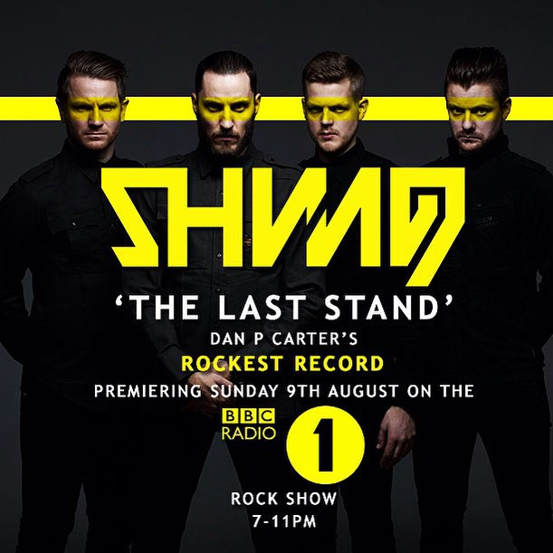 Shining_The Last Stand_BBC Radio 1 Rock Show_Aug 9th 2015